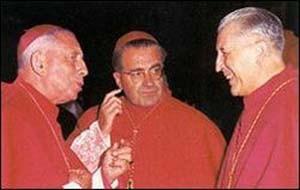 Foto 3 - I moderatori del Vaticano II